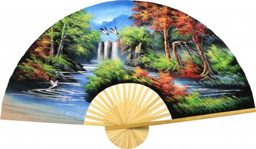 Japanese Autumn :: Oriental Wall Fans