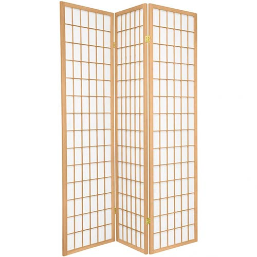 Japanese Window Screen (Natural Finish) :: Japanese Shoji Screens