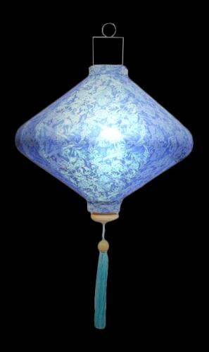 Knowledge Lantern - Sky Blue :: Silk Lanterns