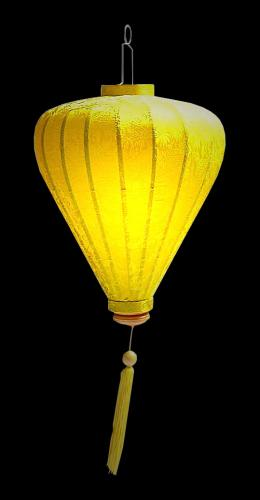 Benediction Lantern - Yellow :: Silk Lanterns