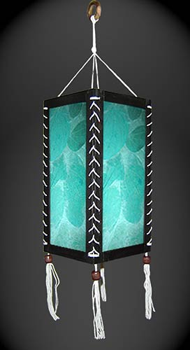 Winter Splash Lantern :: Paper Hanging Lamps