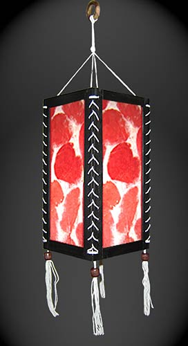 Autumn Splash Lantern :: Paper Hanging Lamps