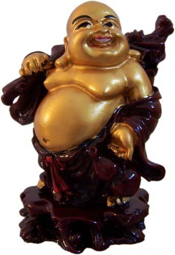 Smiling Buddha :: Resin Statues