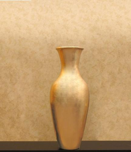 "36"" Large Classic Light Gold Floor Vase :: Large Floor Vases"