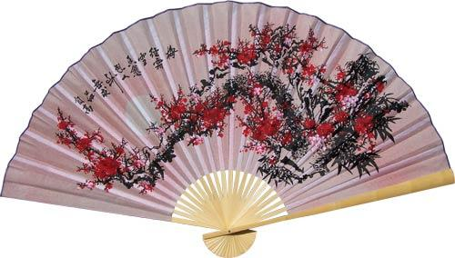 Purity Blossoms :: Asian Wall Fans