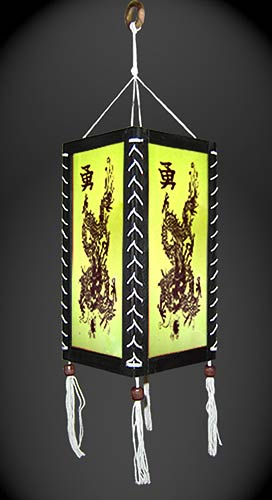 Paper Hanging Lamps Coiled Dragon Lantern