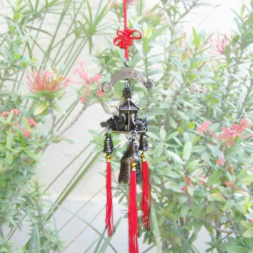 Dragon Pagoda Windchime :: Wind Chimes