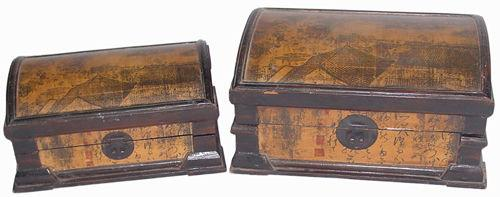 Rooftop Storage Chests (Set Of Two)