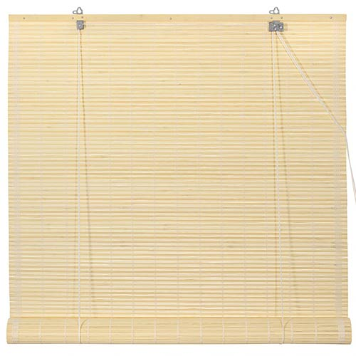 Bamboo Roll Up Blinds - Natural :: Window Blinds
