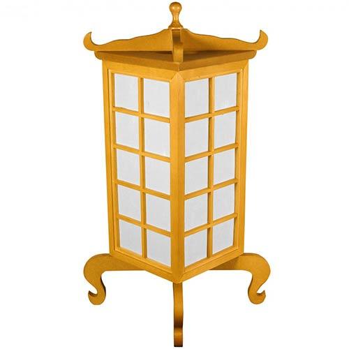 Japanese Lamps Kobe Japanese Lamp Honey Finish