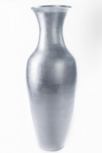 Large Floor Vases 36 Natural Silver Leaf Large Floor Vase
