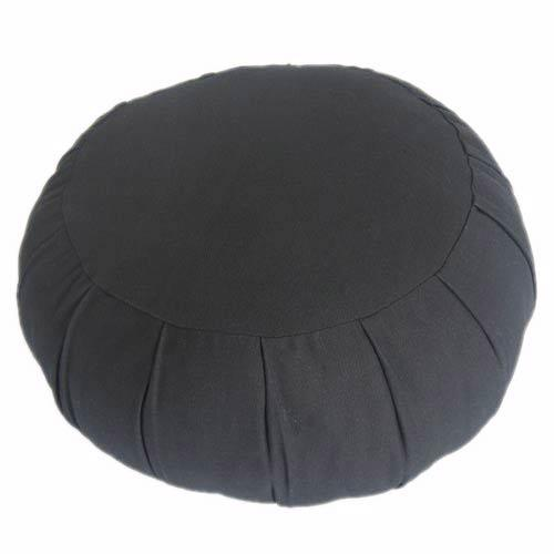 Black Meditation Zafu Cushion :: Meditation Zafu Cushions