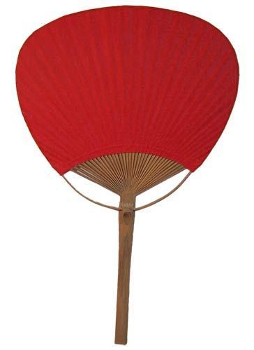 Paddle fans red bamboo paddle fan - Japanese paddle fan ...