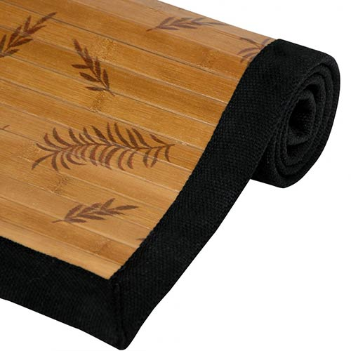Little Leaf Bamboo Rug :: Bamboo Rugs