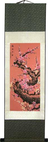 Peach Blossoms :: Chinese Print Scrolls