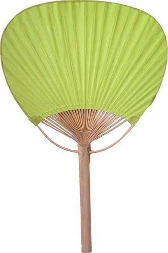 Paddle fans light green bamboo paddle fan - Japanese paddle fan ...