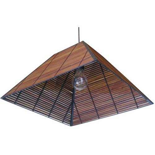 "9"" Yamanote Japanese Ceiling Lantern :: Hanging Ceiling Lamps"