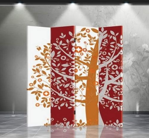 Double Sided Fortune Tree Divider :: Folding Room Dividers
