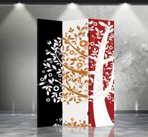 Double Sided Money Tree Divider :: Folding Room Dividers