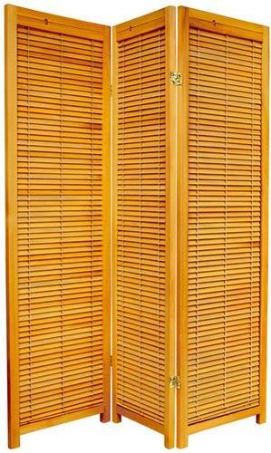 Honey 59 Tall Wooden Shutter Screen Screens