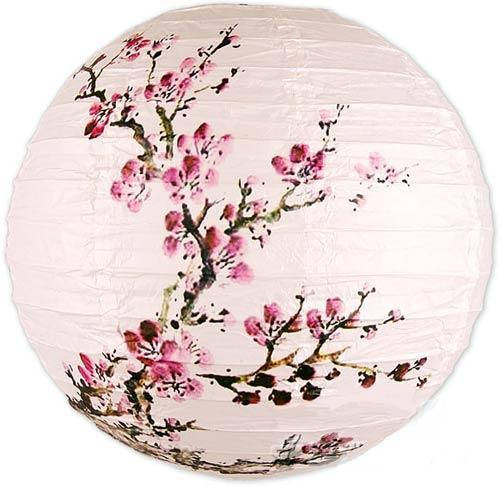 Chinese Lanterns :: Exploding Blossoms Lantern