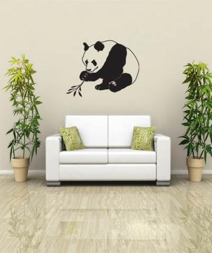 Asian Art Wall Stickers Asian Panda Wall Decal - Vinyl wall decals asian