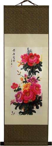 Rosey Promises :: Chinese Print Scrolls