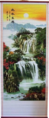 Chinese Scrolls Waterfall Chinese Scroll