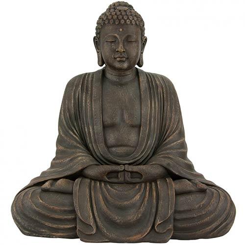 buddhist statues 29 5 tall japanese sitting buddha statue