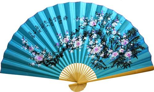 Blue Sakura :: Asian Wall Fans