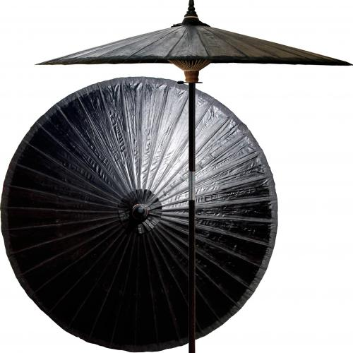 Black Outdoor Umbrella Black Olive :: Market Patio Umbrellas