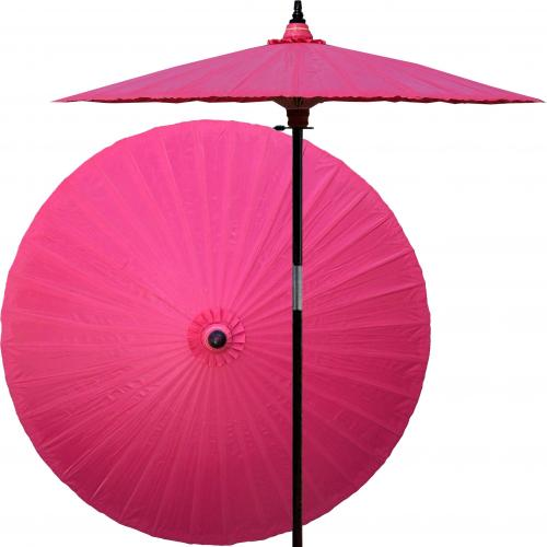 Pink Market Umbrella Pink Lemonade :: Market Patio Umbrellas