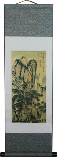 Patient Mountain :: Chinese Print Scrolls