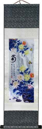 Fall Mood Bouquet :: Chinese Print Scrolls