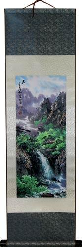 Summer Stream :: Chinese Print Scrolls