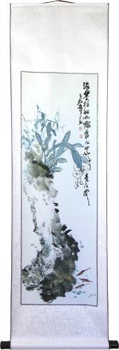 "56"" Abstract Flower Garden :: Chinese Scroll Paintings"