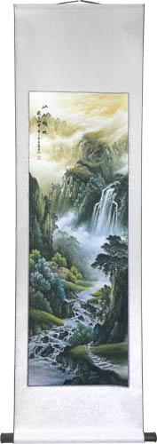 "56"" Surreal Landscape :: Chinese Scroll Paintings"