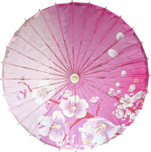 Soft Pink Blossoms :: Paper Umbrellas