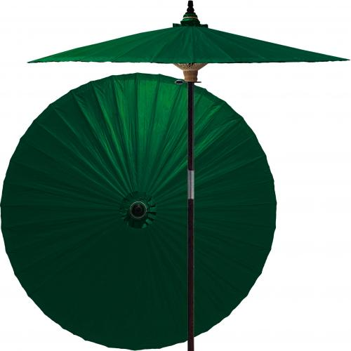 Green Market Umbrella Forest Green :: Market Patio Umbrellas