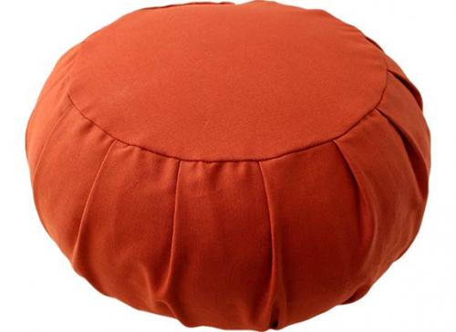 Terra Cotta Meditation Zafu Cushion :: Meditation Zafu Cushions