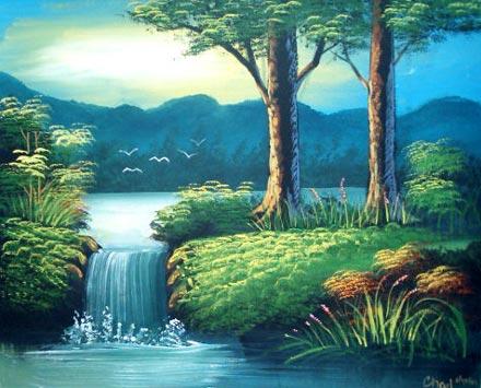 Oriental Paintings Oriental Serenity