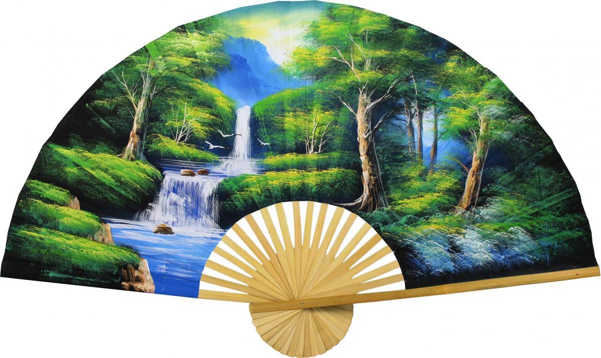 Asian Forest - Oriental Wall Decor - Pretty Asian Wall Decor