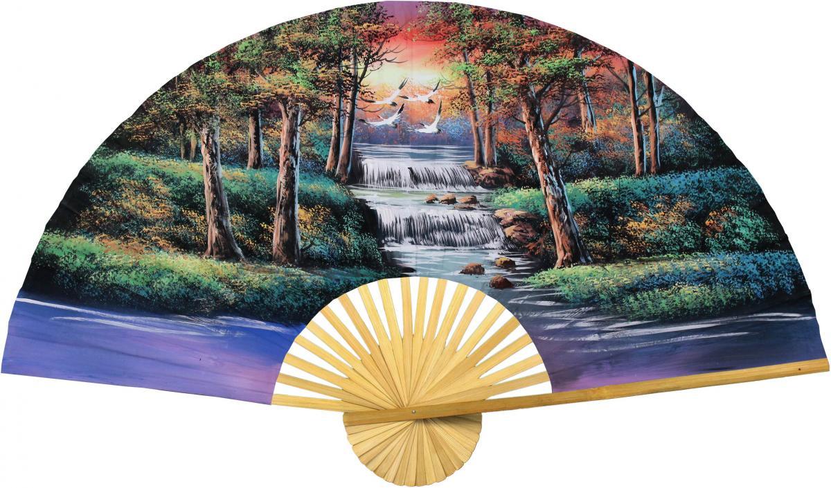 Oriental Thicket - Pretty Asian Wall Decor - Trendy Oriental Decor