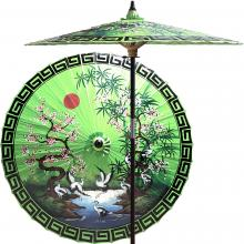 792f803e3c4f3 Asian Spring (Meadow Green). This colorful patio umbrella ...