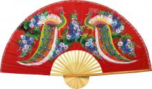 Wisdom of the Peacocks :: Chinese Wall Fans