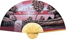 Oriental Cranes :: Chinese Wall Fans