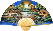 Land of the Enchanted :: Oriental Wall Fans