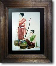Women of Siam :: Asian Prints