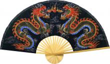 Black Dragons :: Chinese Wall Fans