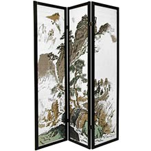 Chinese Landscape Screen :: Japanese Shoji Screens